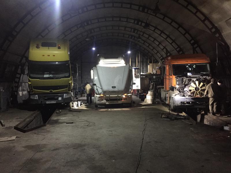 ремонт грузовых вольво в архангельске