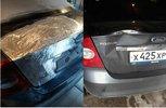 Кузовной ремонт крышки багажника форд фокус 2